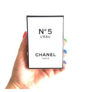 Unopened Chanel No5 Leau